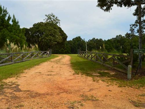 Country Estate With 65 Acres For : Prentiss : Jefferson Davis County : Mississippi