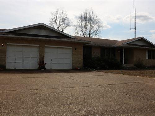 Brick Home In Myron, Arkansas : Myron : Izard County : Arkansas