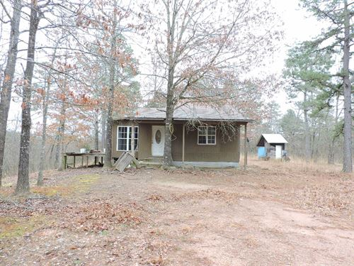 Cabin 2 Acres Close To Lake Hinkle : Waldron : Scott County : Arkansas