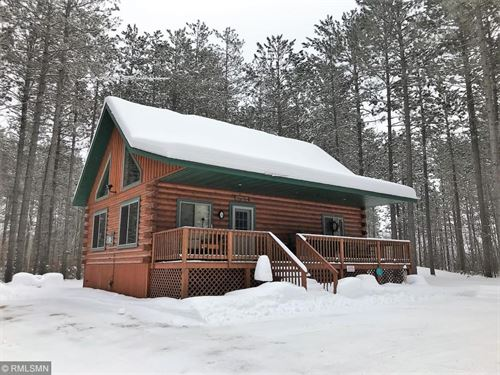 Year Round Log Home Cabin Wooded : Willow River : Pine County : Minnesota