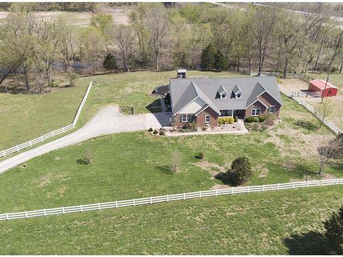 Custom Home & Cattle Farm Little : Fredericktown : Madison County : Missouri