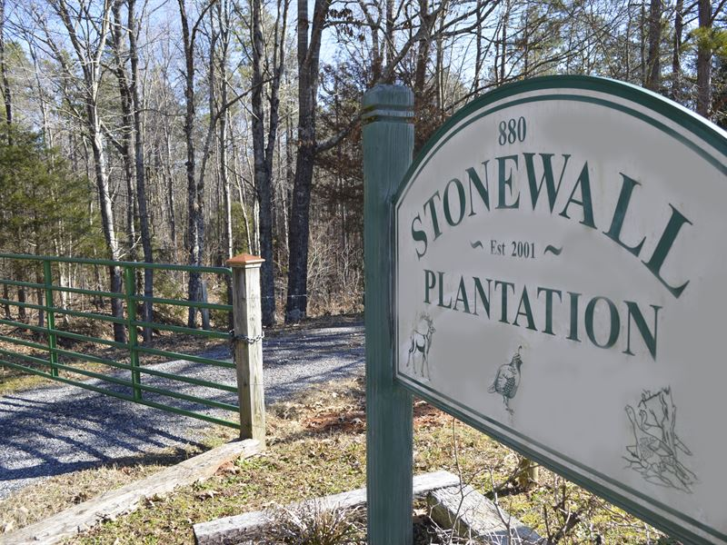 Stonewall Plantation : Clinton : Laurens County : South Carolina