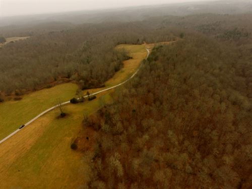 114.34 Ac Mtn Views, Pasture, Rural : Moss : Clay County : Tennessee