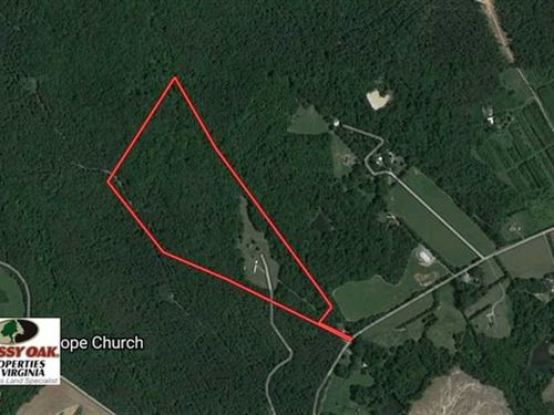 Under Contract, 47.42 Acres of Re : Brookneal : Charlotte County : Virginia