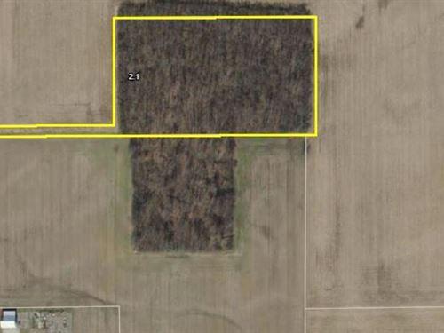 Acreage For Sale Modoc, Indiana : Modoc : Randolph County : Indiana