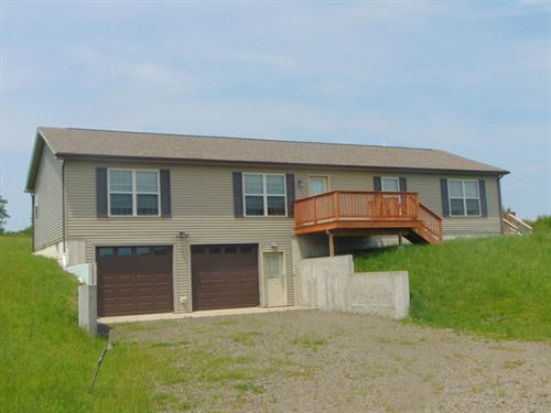Country Home Million Dollar View : North Sanford : Broome County : New York
