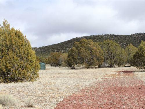 Land Septic, Water Tank, + Borders : Seligman : Yavapai County : Arizona