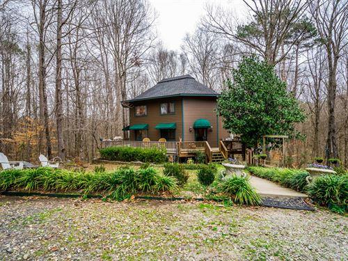 Charming Home On 5.02 Acres : Madison : Morgan County : Georgia