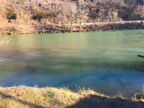 Vacant Riverfront Land In Arkansas : Mammoth Spring : Fulton County : Arkansas