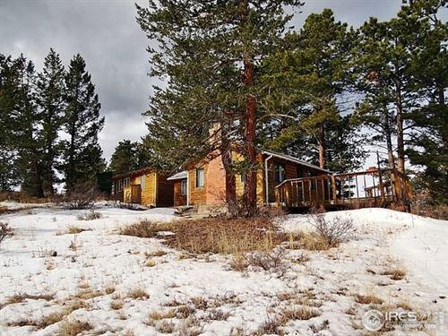 Mountain Getaway Home : Red Feather Lakes : Larimer County : Colorado