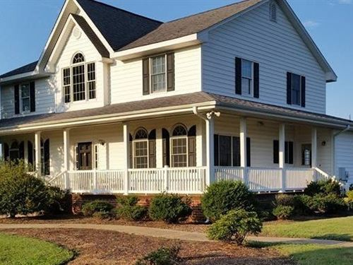 Custom Country Home Seaboard, North : Seaboard : Northampton County : North Carolina