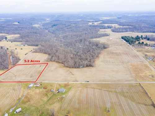 Norwalk Rd Tract 1, 5.2 Acres : Cambridge : Guernsey County : Ohio