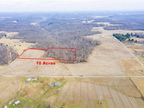 Norwalk Rd Tract 2, 10 Acres : Cambridge : Guernsey County : Ohio
