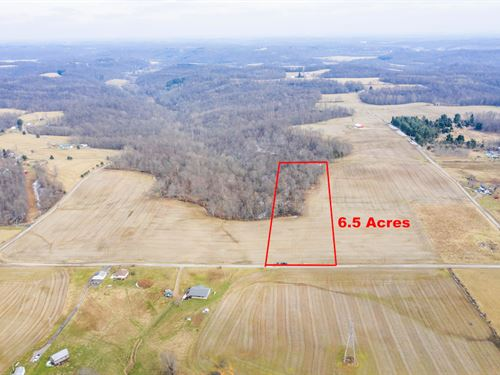 Norwalk Rd Tract 4, 6.5 Acres : Cambridge : Guernsey County : Ohio