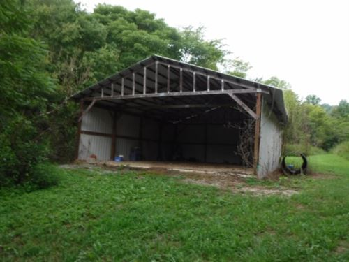 125 Acres Creek, 24X32 Pole Barn : Whitleyville : Jackson County : Tennessee