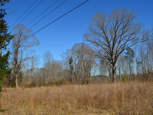 57.5 Acres Near Woodruff : Woodruff : Spartanburg County : South Carolina