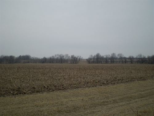 Tillable Farm Land Acreage Benton : Windsor : Benton County : Missouri