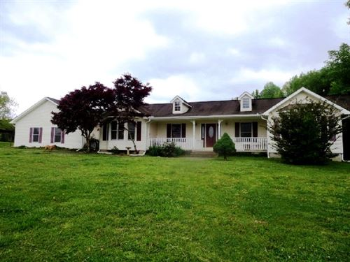 Appealing Home W 6 Acres : Lineville : Clay County : Alabama
