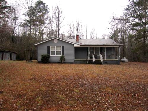 Home With 33 Acres : Lineville : Clay County : Alabama