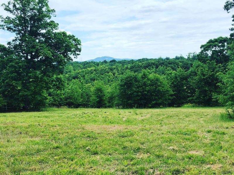 Private Homestead, Mountain Views : Land for Sale : Greenville : Greenville  County : South Carolina