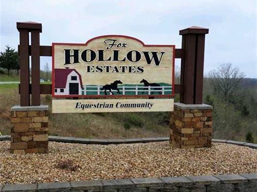 Fox Hollow Estates : Chestnutridge : Taney County : Missouri