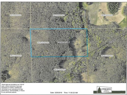 Crow Wing County Hunting Land : Garrison : Crow Wing County : Minnesota