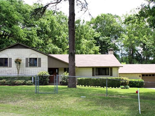 Waterfront Home Lake Palestine TX : Frankston : Henderson County : Texas