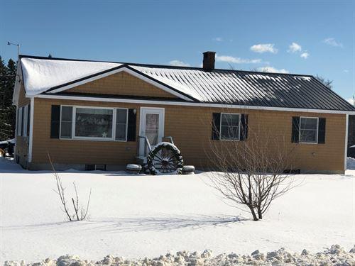 Coastal Country Home, Cutler, Maine : Cutler : Washington County : Maine