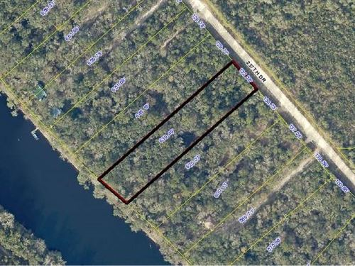 Nice River Front Homesite : Live Oak : Suwannee County : Florida