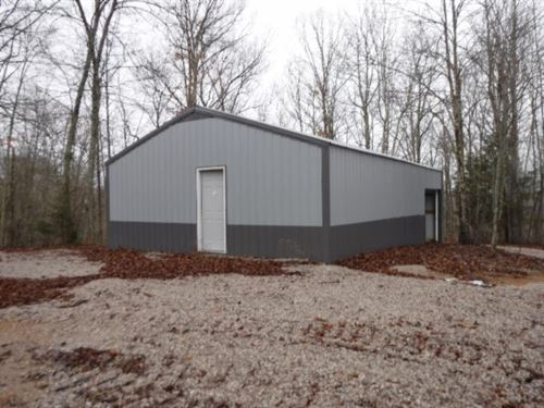 5.09Ac W/A Lovely Building Site : Celina : Clay County : Tennessee