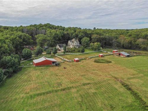 Beautiful Farm Near Ava, Missouri : Ava : Douglas County : Missouri