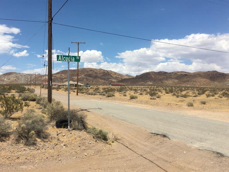 Great Views, Borders Blm, $175 P/Mo : Barstow : San Bernardino County : California