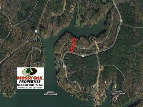 Reduced, 1.12 Acres of Waterfront : Ebony : Brunswick County : Virginia