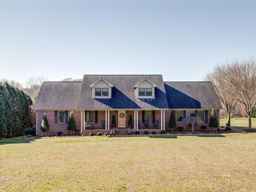 Country Home, Acreage, Maury : Culleoka : Maury County : Tennessee