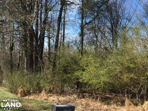 Unrestricted Kenly Wooded Lot : Kenly : Wilson County : North Carolina