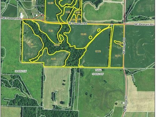 125 Acre Missouri Row Crop Farm : Fairport : Dekalb County : Missouri