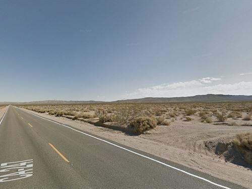 Nice Property Bordering Blm : Barstow : San Bernardino County : California