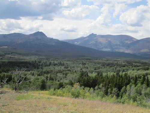 East Glacier Park Acreage : East Glacier Park : Glacier County : Montana