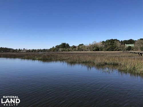 Deepwater Deloss Point Vacant Water : Ridgeland : Jasper County : South Carolina