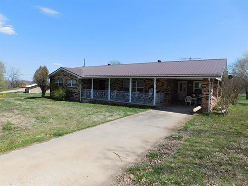 Brick Home Buffalo National River : Hasty : Newton County : Arkansas