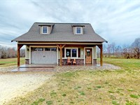Tennessee Country Cabin, 5+ Acres : Bradford : Gibson County : Tennessee