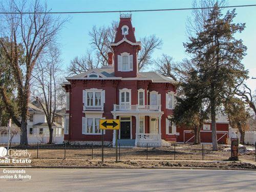 Historic Prescott Foley House : Salina : Saline County : Kansas