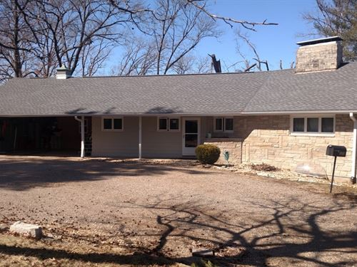 Ranch Style Home, Quiet Dead End : Keokuk : Lee County : Iowa
