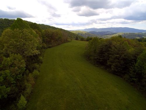 Large Acreage Big Views Blue Ridge : Troutdale : Grayson County : Virginia