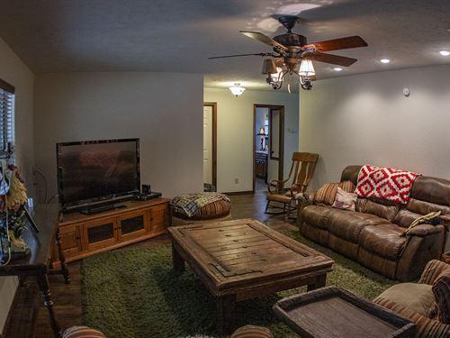 56 Acres And Newer 3/2 Home : De Queen : Sevier County : Arkansas