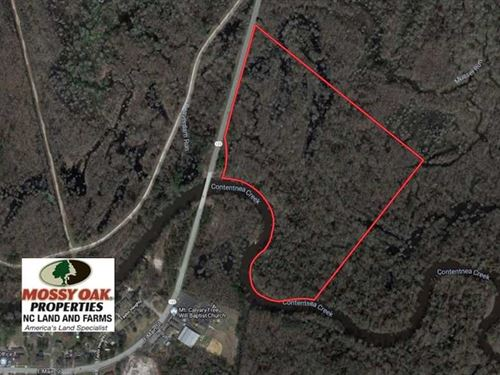 Under Contract, 43.66 Acres of Cr : Hookerton : Greene County : North Carolina