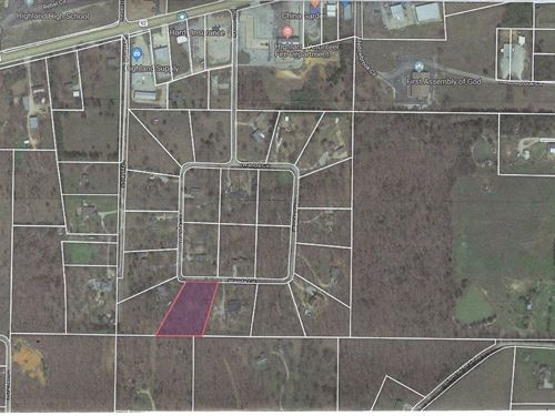 Building Lot For Sale in Arkansas : Highland : Sharp County : Arkansas