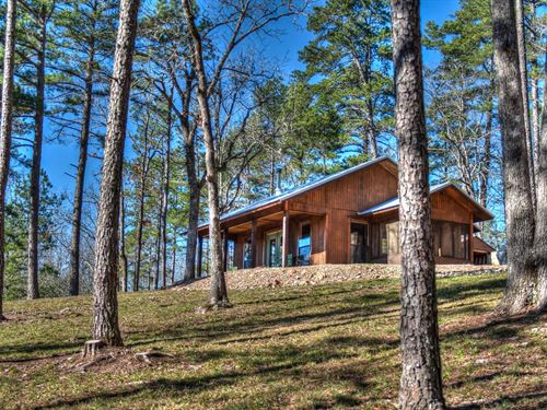 Off Grid Cabin Adjoining National : Mena : Polk County : Arkansas
