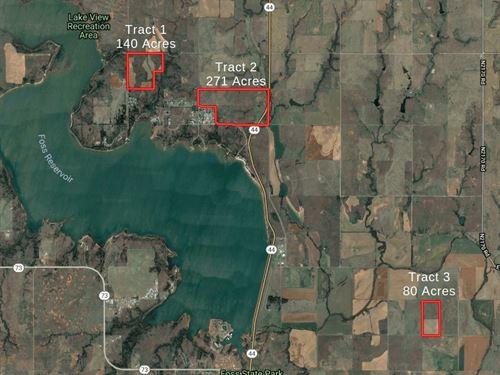 Oklahoma Hunting & Ranch Land 270 : Butler : Custer County : Oklahoma