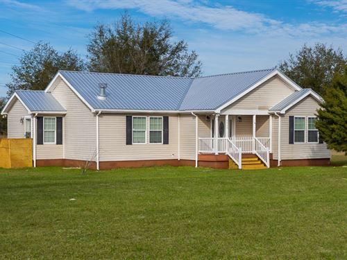 Move-In Ready : O'brien : Suwannee County : Florida